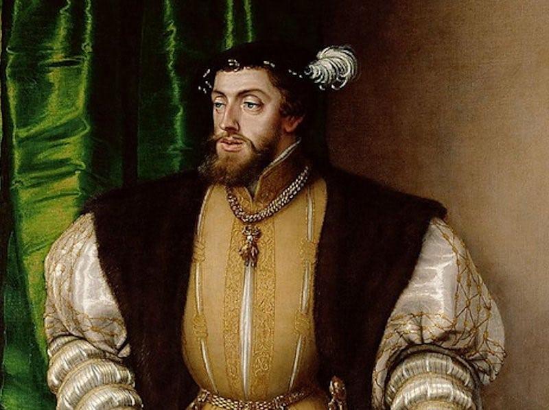 Keizer Karel V, bron Wikipedia
